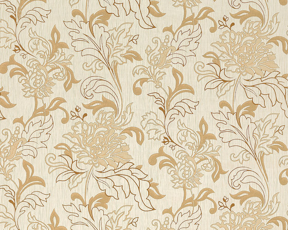 Versailles - Flower wallpaper EDEM 604-93 by e-Delux | Wall coverings / wallpapers