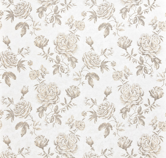 Versailles - Flower wallpaper EDEM 687-91 by e-Delux | Wall coverings / wallpapers
