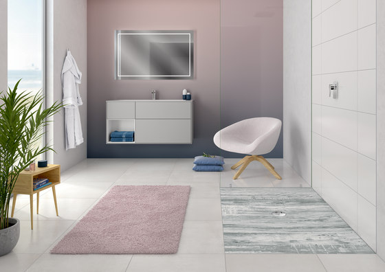 ViPrint Inspired By Nature by Villeroy & Boch   Shower trays