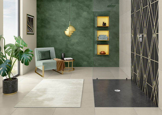 Viprint Inspired By Tiles by Villeroy & Boch | Shower trays