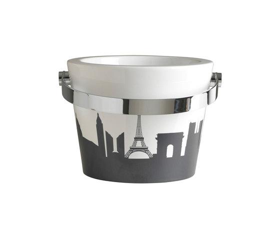Bucket by Scarabeo Ceramiche   Wash basins