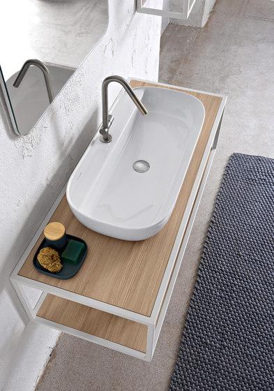 Glam | 76/R by Scarabeo Ceramiche | Wash basins