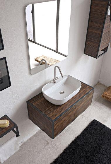 Glam | 56/R by Scarabeo Ceramiche | Wash basins