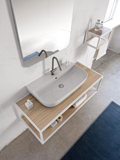 Glam | 75/S by Scarabeo Ceramiche | Wash basins