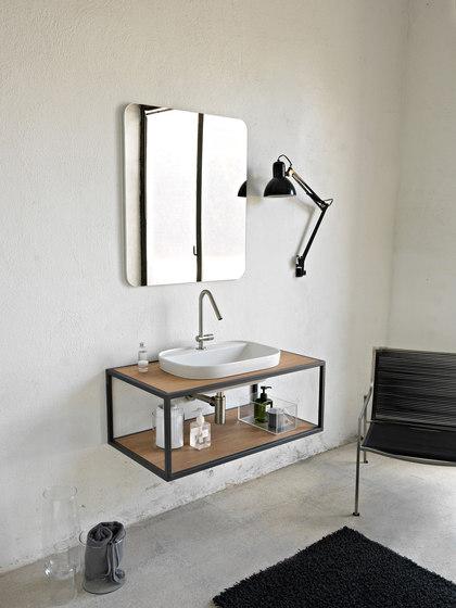 Glam | 56/A by Scarabeo Ceramiche | Wash basins