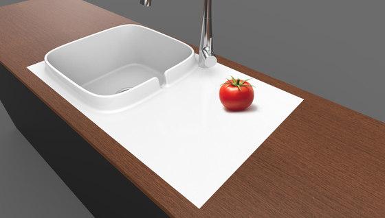 Up by Scarabeo Ceramiche | Kitchen sinks