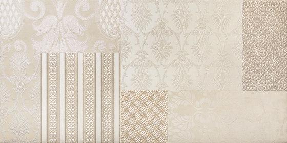Fori Romani Crema Marfil | Patchwork Mix von Rondine | Keramik Fliesen