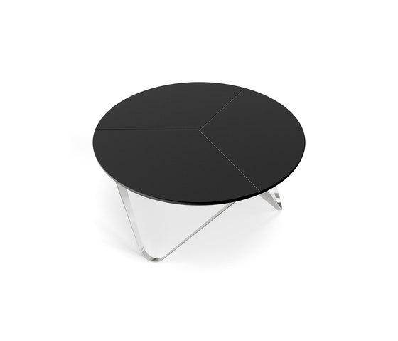 Chronos mesa baja   recubrimiento en polvo de Joval   Mesas de centro
