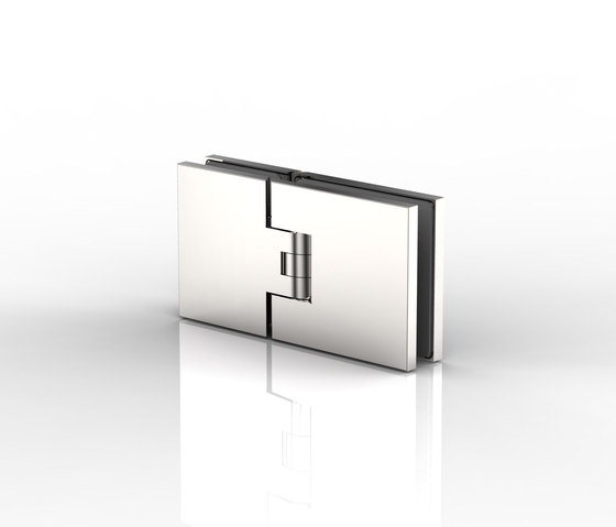 Flamea+ by Pauli | Hinges for glass doors