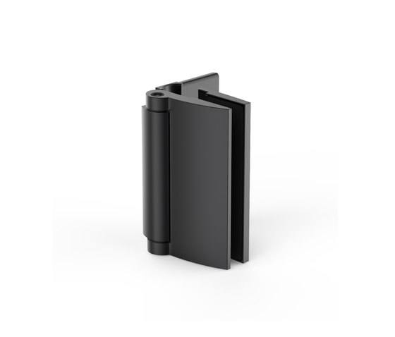 Farfalla black Edition by Pauli | Hinges for glass doors