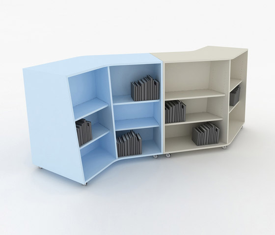 135° by IDM Coupechoux | Shelving
