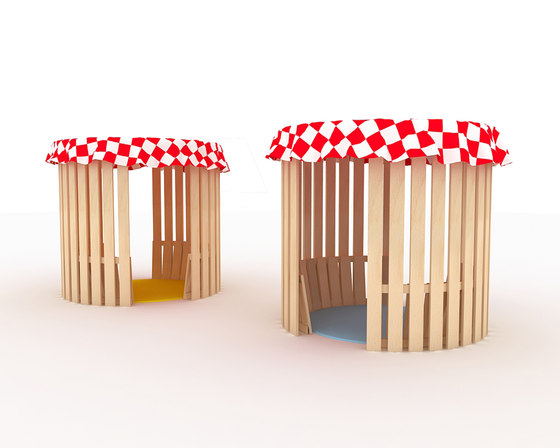 Cabane by IDM Coupechoux   Play furniture