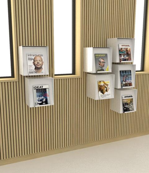 Mur Box by IDM Coupechoux | Shelving