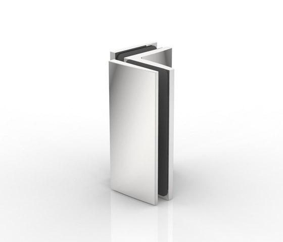 Winkelverbinder by Pauli | Hinges for glass doors