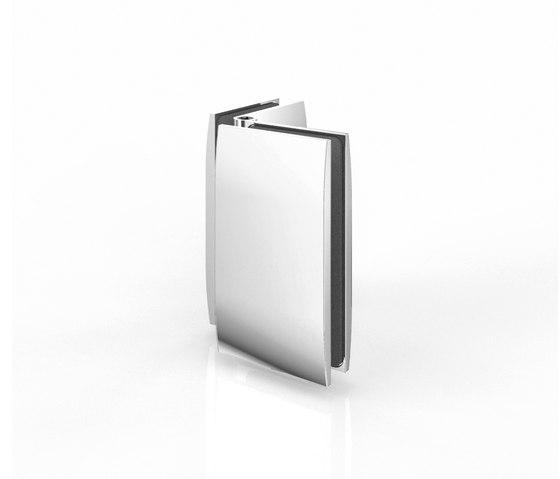 Winkelverbinder by Pauli   Hinges for glass doors