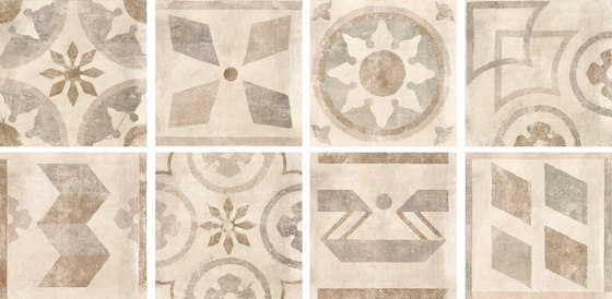 Icon Almond | Folk de Rondine | Carrelage céramique