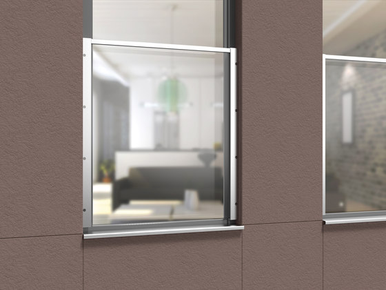 TYPE-P-04 by Pauli   Facade fixing systems