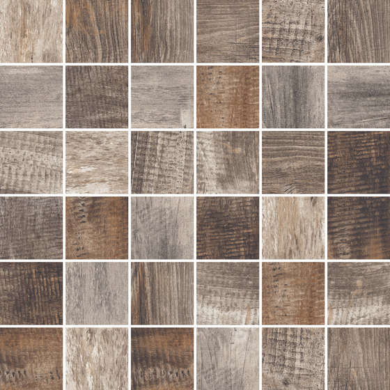 Inwood Dark Grey | Mosaico von Rondine | Keramik Mosaike
