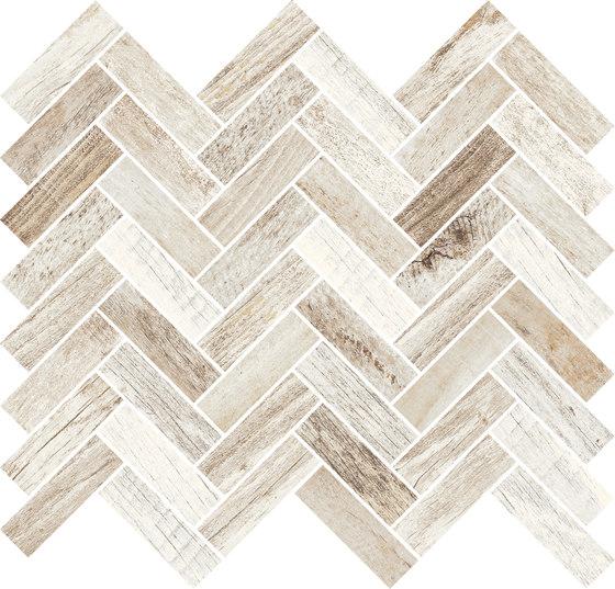 Inwood Ivory | Mosaico Spina by Rondine | Ceramic mosaics