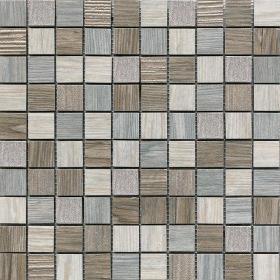Jungle Lux Grey | Mosaico de Rondine | Mosaïques céramique
