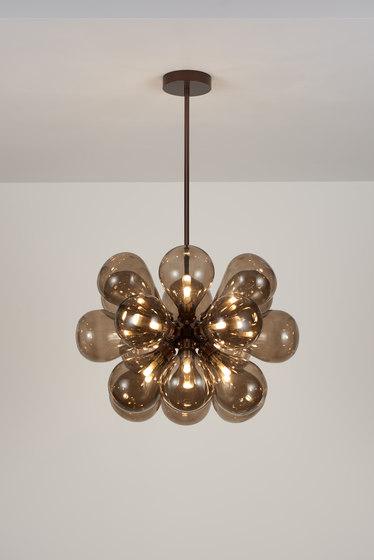 Cintola Maxi Pendant satin bronze by Tom Kirk Lighting | General lighting