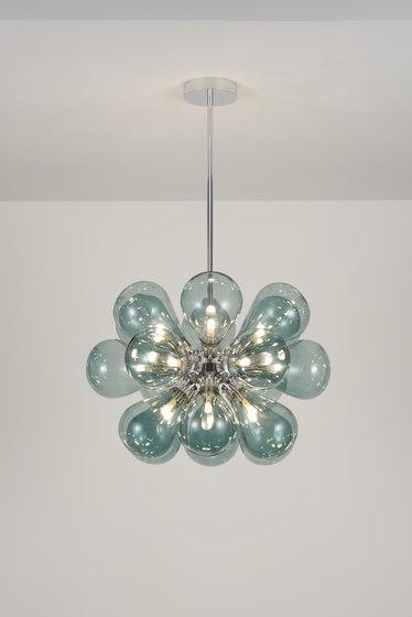 Cintola Maxi Pendant polished aluminium by Tom Kirk Lighting | General lighting