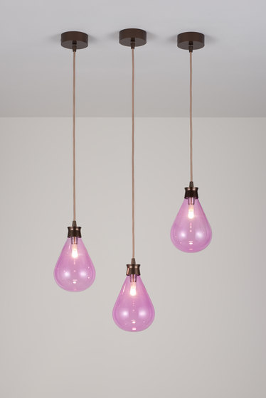 Cintola Pendant satin bronze by Tom Kirk Lighting | Suspended lights