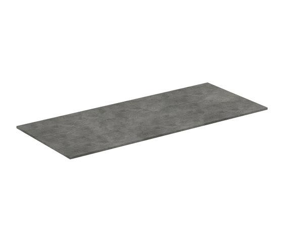 Adapto Holzplatte 1200 mm zu Waschtisch-Unterschrank / Standkonsole by Ideal Standard | Bathroom furniture