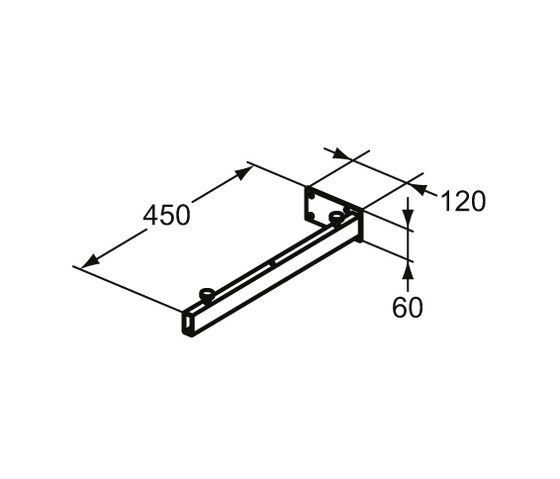 Adapto Konsolenträger by Ideal Standard | Vanity units