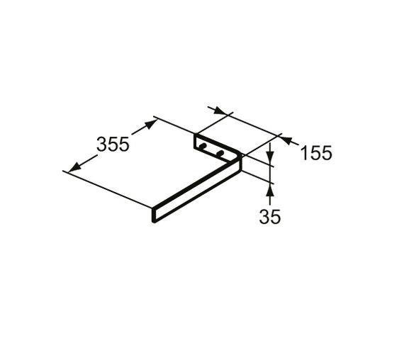 "Adapto Handtuchhalter ""Bordo"" by Ideal Standard   Towel rails"