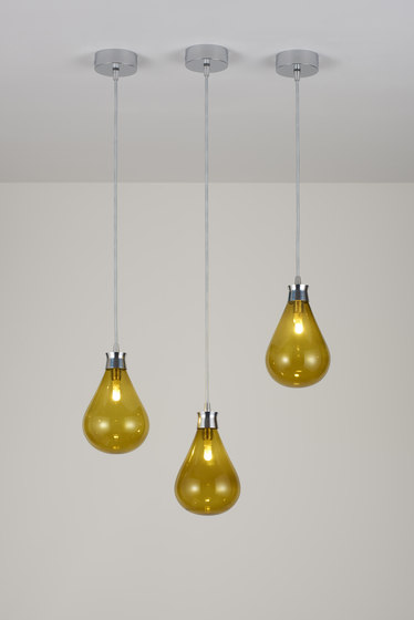 Cintola Pendant polished aluminium by Tom Kirk Lighting | General lighting