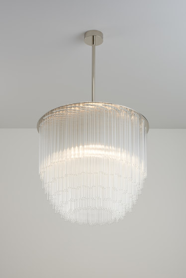 Disc Chandelier by Tom Kirk Lighting | Suspended lights