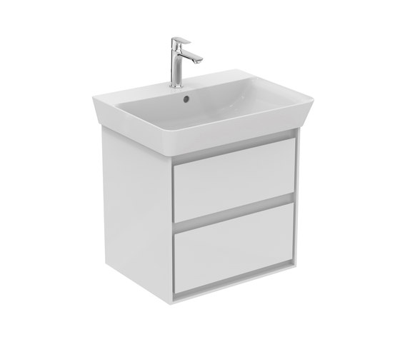 Connect Air Waschtisch-Unterschrank Cube Air 535 mm, 2 Auszüge by Ideal Standard | Vanity units