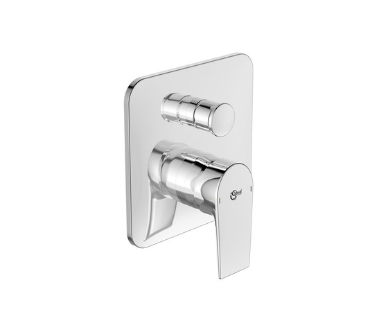 Edge Badearmatur UP Bausatz 2 (eigensicher nach DIN EN 1717) by Ideal Standard | Bath taps