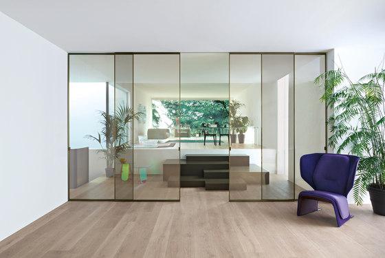 Sherazade Slide de Glas Italia | Puertas de interior