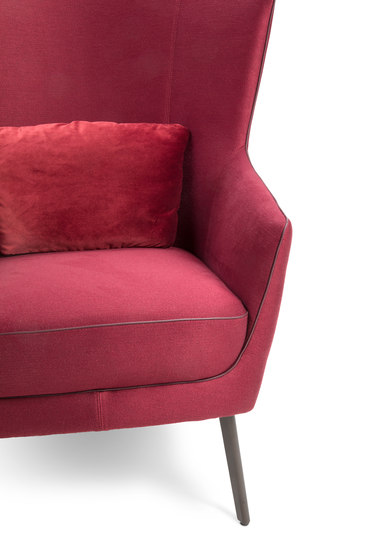 Lilou Wing chair by Christine Kröncke | Armchairs