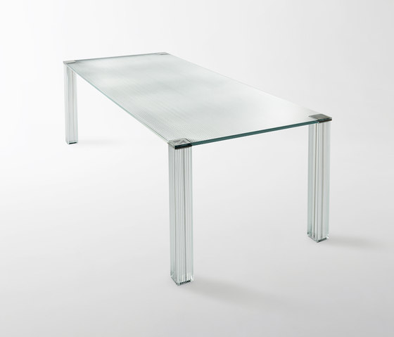 Criptée by Glas Italia | Dining tables