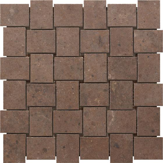 London Brown   Mosaico von Rondine   Keramik Mosaike
