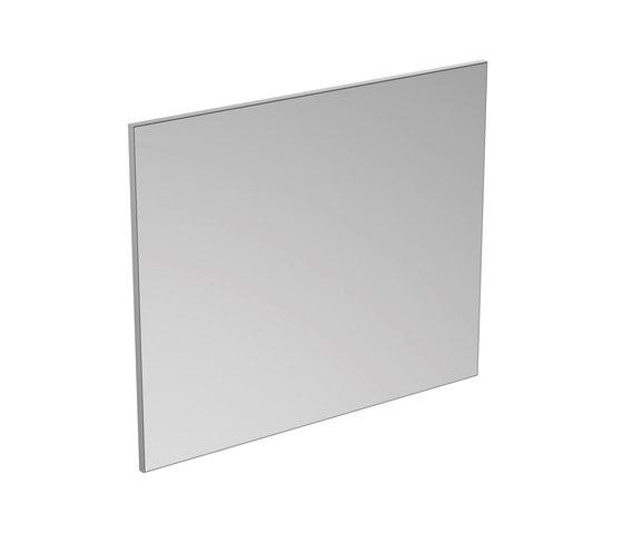 Mirror & Light Spiegel mit Rahmen 1200 x 1000 mm by Ideal Standard | Mirrors