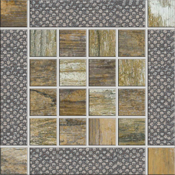 Metalwood Beige | Inserto by Rondine | Ceramic tiles
