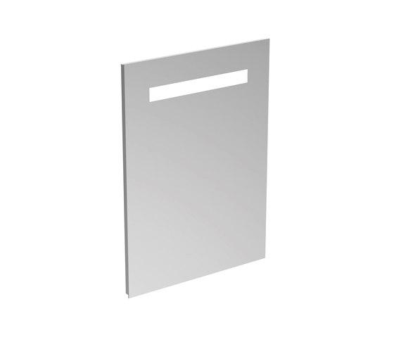 Mirror & Light Spiegel 500 mm mit Beleuchtung (25,5 W) by Ideal Standard | Wall mirrors