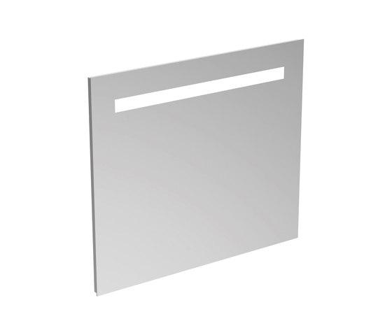 Mirror & Light Spiegel 800 mm mit Beleuchtung (31,3 W) by Ideal Standard | Wall mirrors