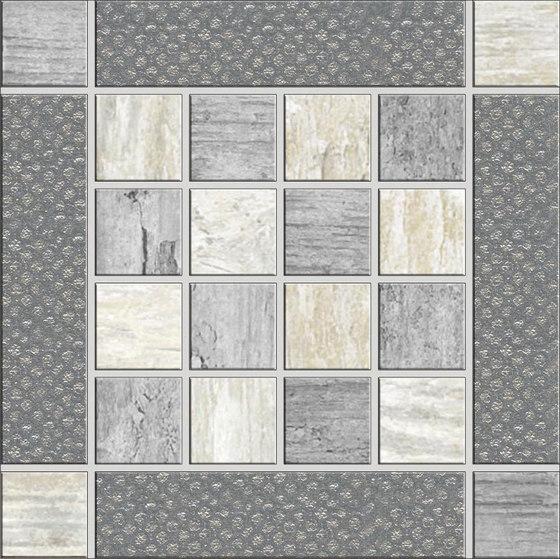 Metalwood Grey | Inserto by Rondine | Ceramic tiles