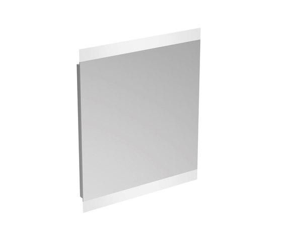Mirror & Light Spiegel 600 mm mit 2-seitigem Ambientelicht (40,5 W) by Ideal Standard | Mirrors