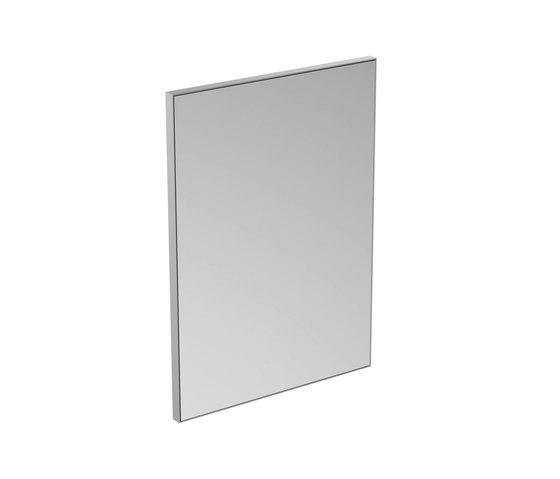 Mirror & Light Spiegel mit Rahmen 500 x 700 mm by Ideal Standard | Wall mirrors