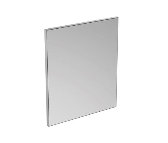 Mirror & Light Spiegel mit Rahmen 600 x 700 mm by Ideal Standard | Wall mirrors