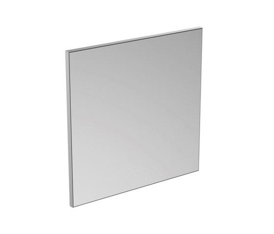 Mirror & Light Spiegel mit Rahmen 700 x 700 mm by Ideal Standard | Wall mirrors