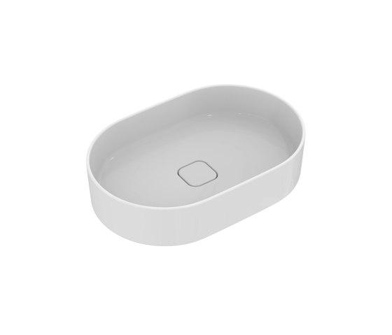 Strada II Aufsatzwaschtisch oval 600 x 400 mm, ohne Überlauf by Ideal Standard | Wash basins