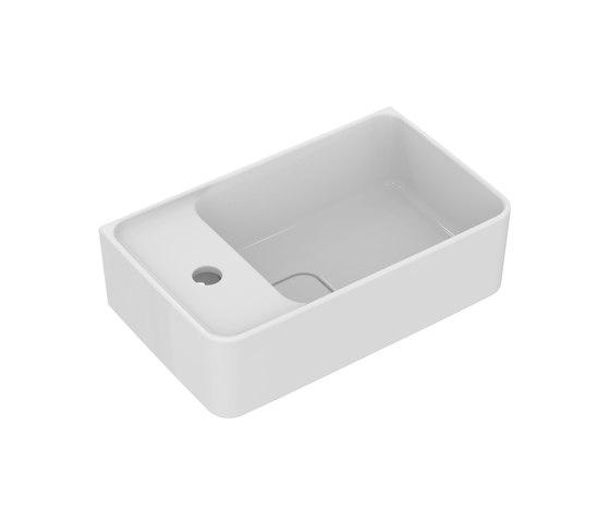 Strada II Handwaschbecken 450 mm (Armaturenbank links) by Ideal Standard | Bathroom fixtures