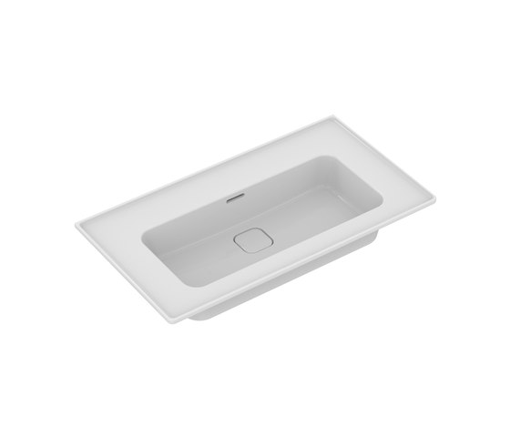Strada II Möbelwaschtisch 800 mm, ohne Hahnloch by Ideal Standard | Wash basins